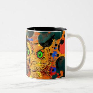 Man Vs Owl Mugs