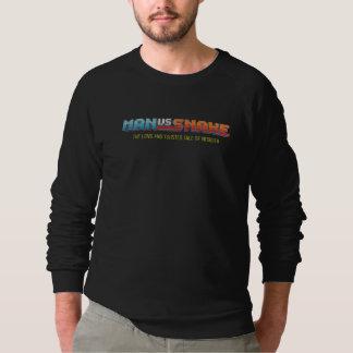 MAN VS SNAKE Long Sleeve T-Shirt
