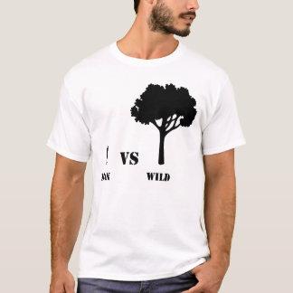 Man vs Wild Stamp T-Shirt