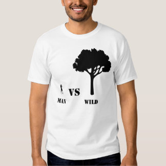 Man vs Wild Stamp T-shirts