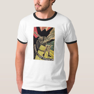 Man With A Movie Camera 1929 color movie poster T Shirt