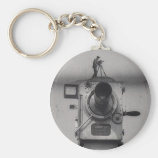 Man with a Movie Camera (1st Shot) Keychains
