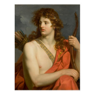 Man with Bow and Arrows Postcard