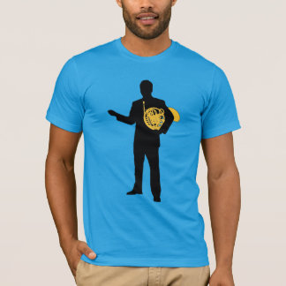 Man with French Horn T-shirt
