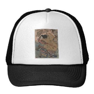 Man with Fur Coat & Straw Hat