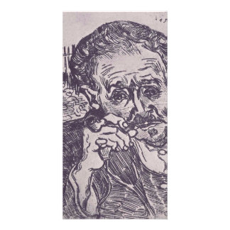 Man with pipe  by Vincent van Gogh Photo Greeting Card