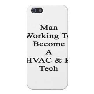 Man Working To Become A HVAC R Tech iPhone 5 Cases