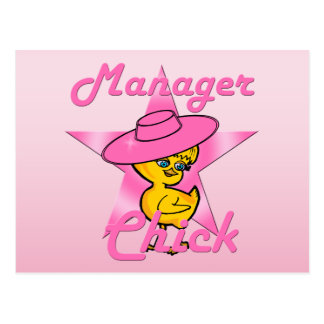 Manager Chick #8 Postcard