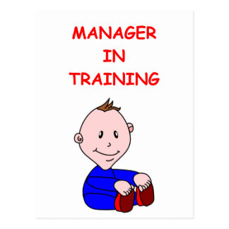 MANAGER POST CARDS