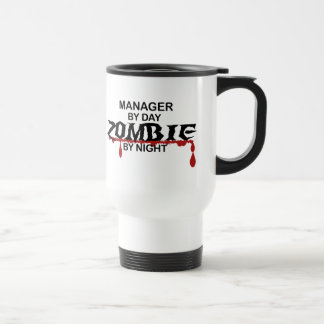Manager Zombie Travel Mug