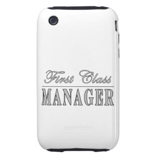 Managers First Class Manager iPhone 3 Tough Case