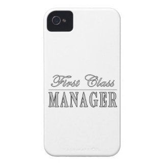 Managers First Class Manager iPhone 4 Case