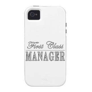 Managers First Class Manager iPhone 4 Covers