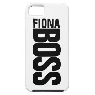 Manager's Personalized Name iPhone 5 Case