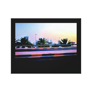 Manama Date Trees Canvas Print