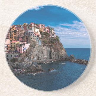 Manarola, cinque terre. Italy Coaster
