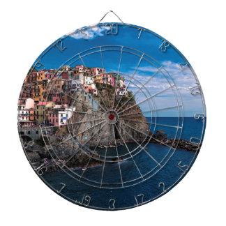 Manarola, cinque terre. Italy Dartboard