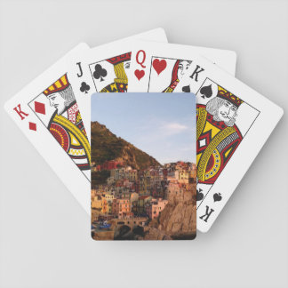 Manarola Cinque Terre, Italy Playing Cards