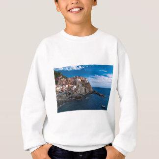 Manarola, cinque terre. Italy Sweatshirt