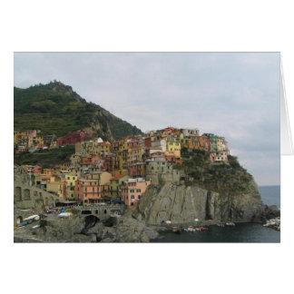 Manarola Italy Card