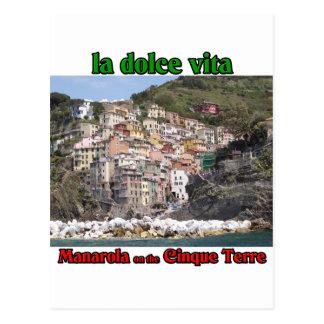 Manarola Italy Postcard