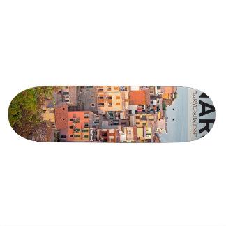 Manarola Vineyard Sunset white Custom Skateboard