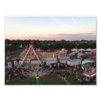 Manasquan Fireman's Fair Overlooking Mallard Park Photo Print