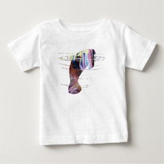 Manatee art baby T-Shirt