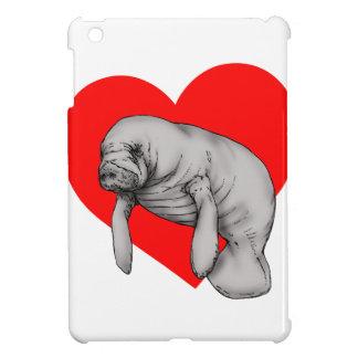 manatee art iPad mini cover