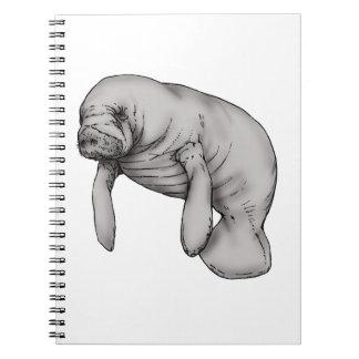 manatee art notebooks