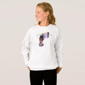 Manatee art sweatshirt