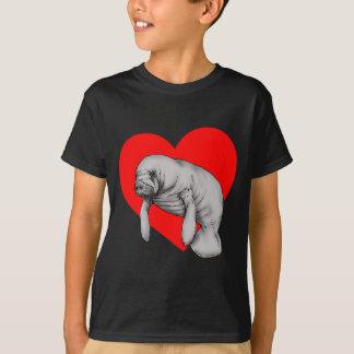 manatee art T-Shirt