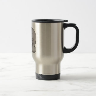manatee art travel mug