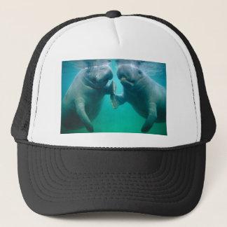 manatee hate trucker hat