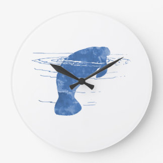 Manatee Large Clock