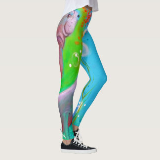 Manatee Leggings