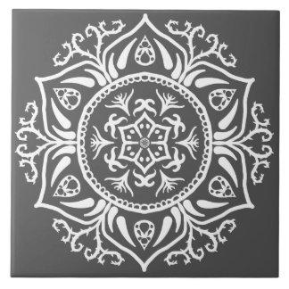 Manatee Mandala Ceramic Tile