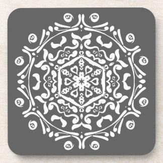Manatee Mandala Coaster