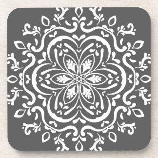 Manatee Mandala Coasters