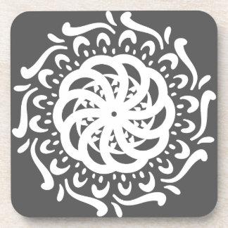 Manatee Mandala Drink Coasters