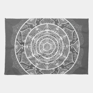 Manatee Mandala Tea Towel