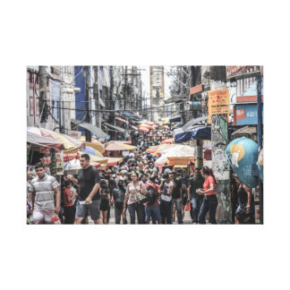 Manaus City - the chaotic Capital of Amazon Canvas Print