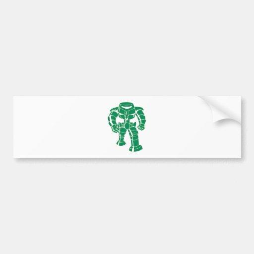 Manbot Bumper Sticker