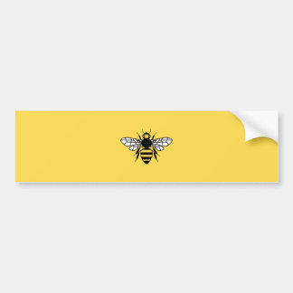 Manchester Bee Bumper Sticker