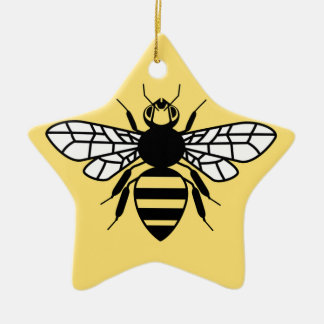Manchester Bee Ceramic Ornament