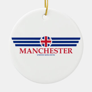 Manchester Ceramic Ornament