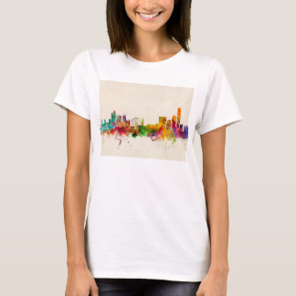 Manchester England Skyline Cityscape T-Shirt