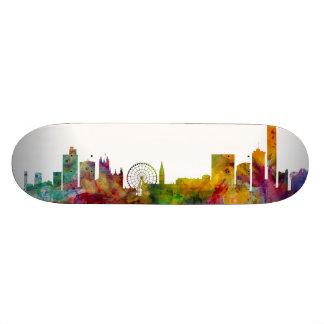Manchester England Skyline Skate Board Decks