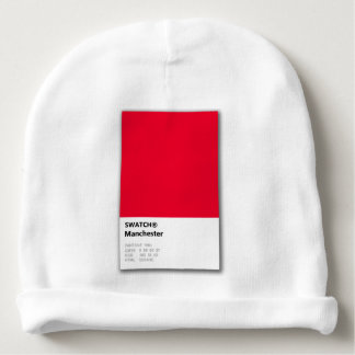 Manchester is RED Baby Beanie