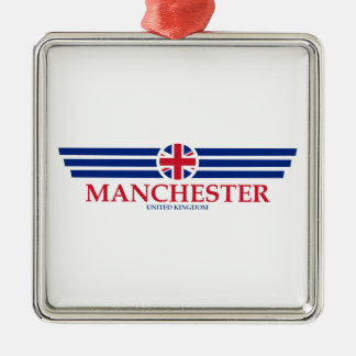 Manchester Metal Ornament